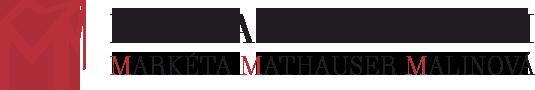 Markéta Mathauser Malinová - fotografický ateliér, Praha Dejvice - logo